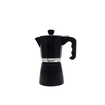 Caffettiera, Alu schwarz - 9 Tassen